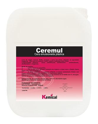 CEREMUL - Cera Emulsionada Plástica Autobrillante
