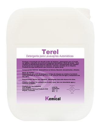 TEREL - Detergente para Maq. Lavavajillas