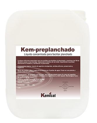 KEM - PREPLANCHADO - Preplanchado altamente concentrado
