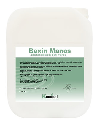 BACXIN - Jabón Antibacterial