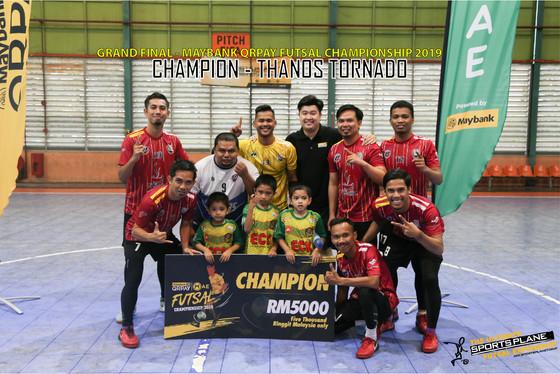 Maybank Qrpay Futsal Championship 2019 Grand Final