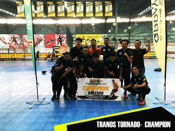 Maybank Qrpay Futsal Champioship - Qualifying Sports Planet Ampang