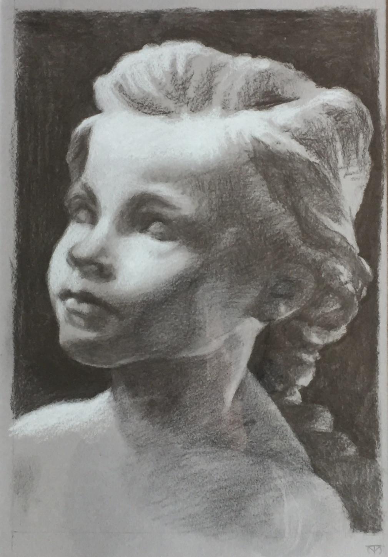 study of Claudel's La petite chatelaine.