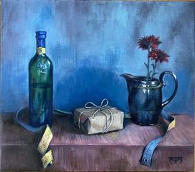 Still Life with a Gift/Stilleben med present