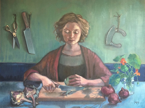 Nathalia, with Artichokes
