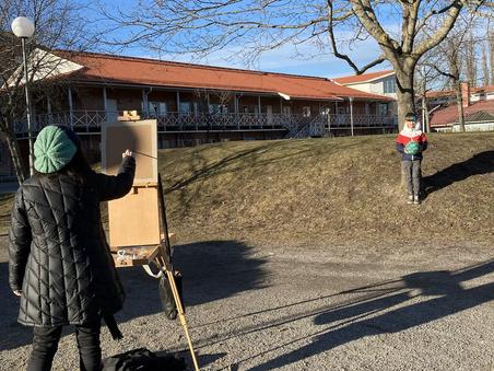 Skarpnäck dag två/second session