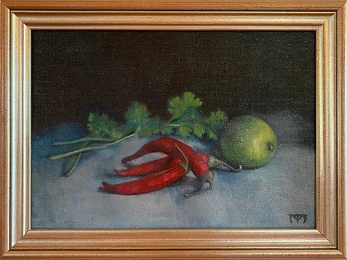 Chillies; Lime; Cilantro