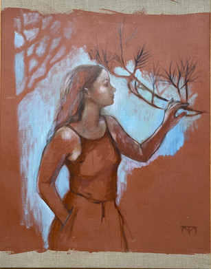 Nathalia, with Pine Branch