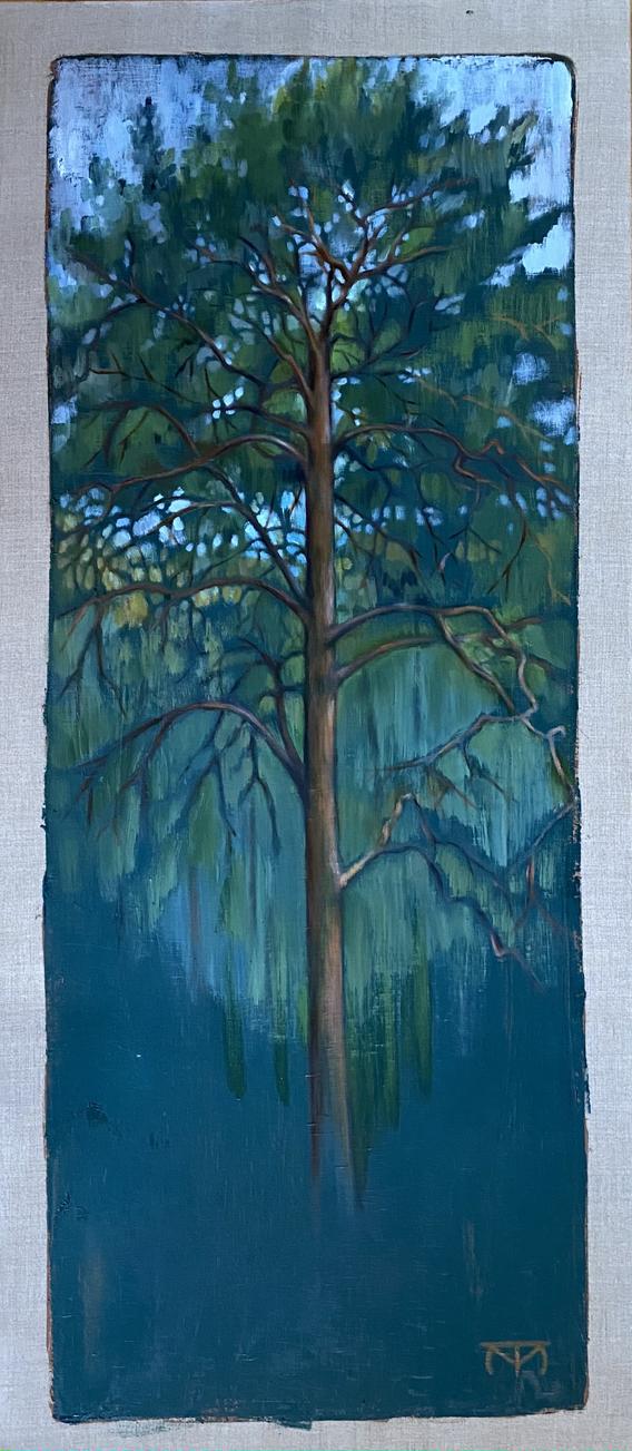 Fir in Green Woods/Tall mot grön skog
