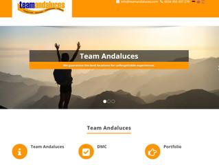 Website für Team Andaluces