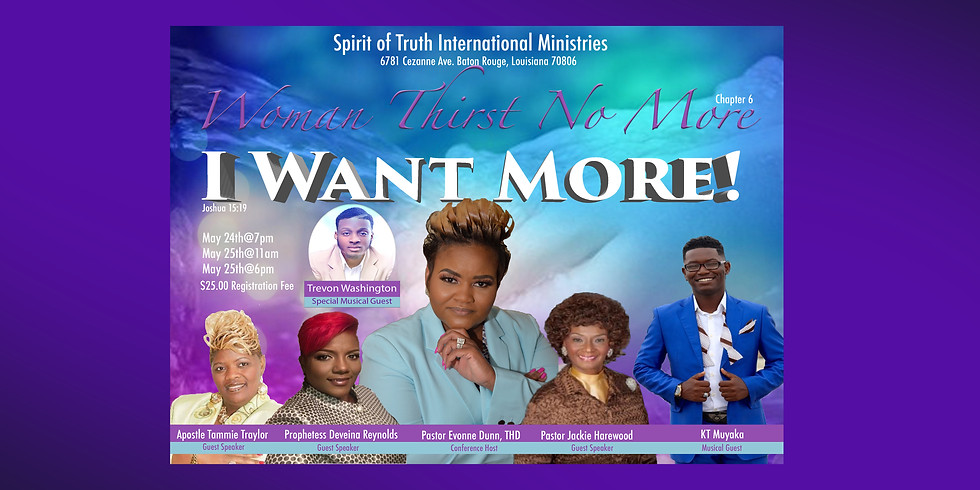 Woman Thirst No More Chapter 6 Women's Conference
