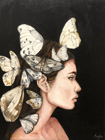 Midnight Portraits - Butterlies in the Night