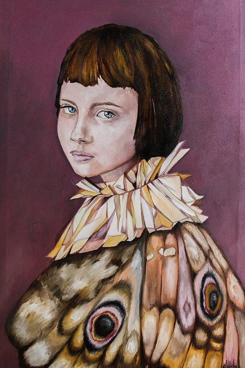Portrait of a Moth Girl II