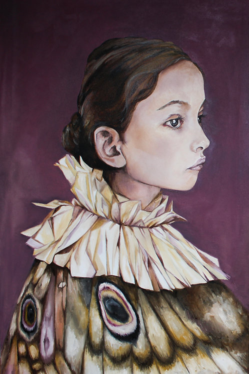 copy of Portrait of a Moth Girl I