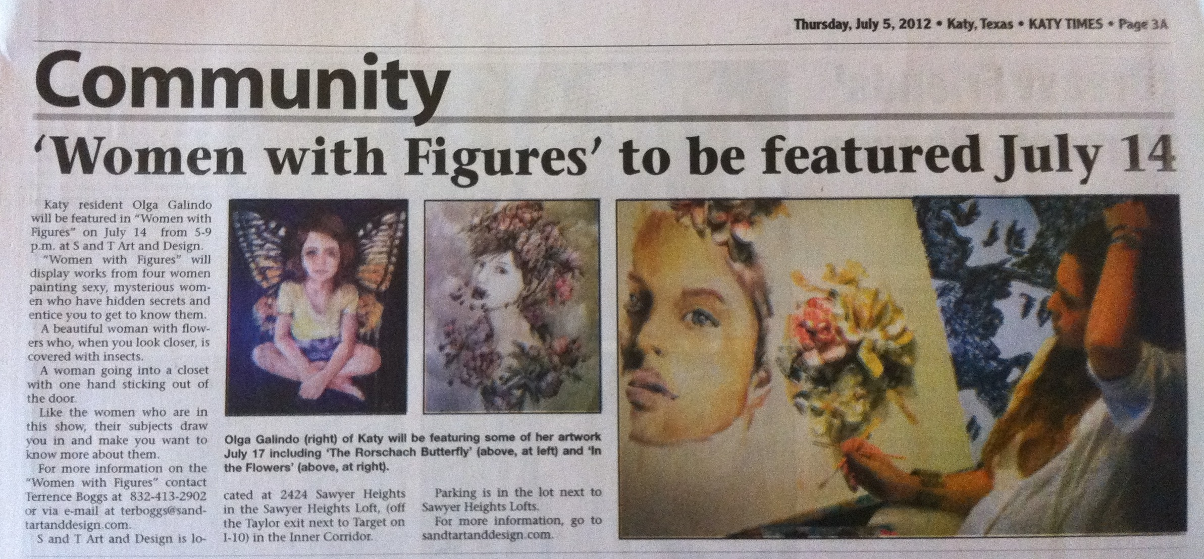 Katy Times Newspaper Article