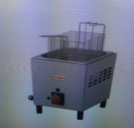 Gas Fryer, 1 Basket/1 Well
