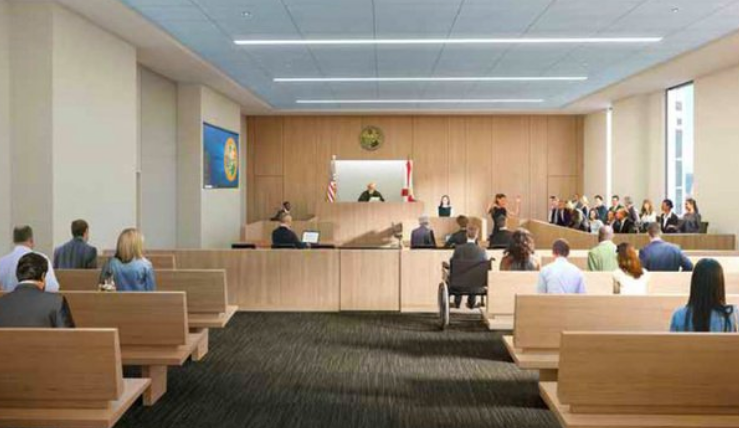 New Miami Dade Courthouse rendering