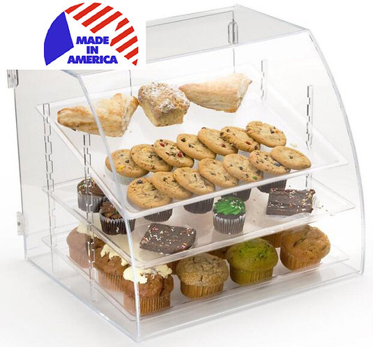 Clear acrylic food dispenser