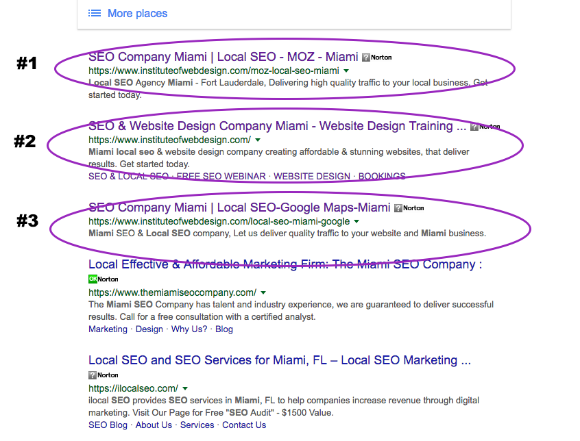 local seo miami