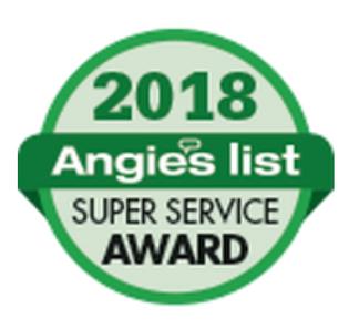Actsys Garage Doors, Inc.  Earns 2018 Angie's List Super Service Award