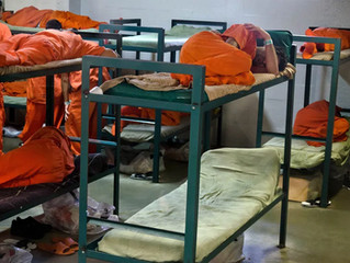 Inmates in close quarters in county jails