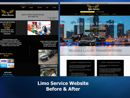 Recent Website Redesign Project