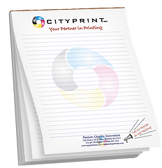 Notepads Custom Design Add Logo Or QR Code High Quality Full Color Printing