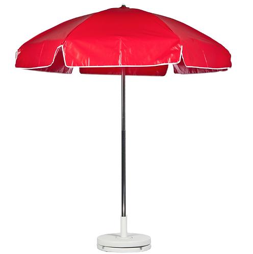 Concession Cart Umbrella - Red