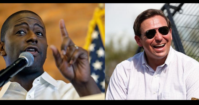 Miami Bondsman, Gillum wants criminal justice reform. DeSantis wants mandatory minimums.