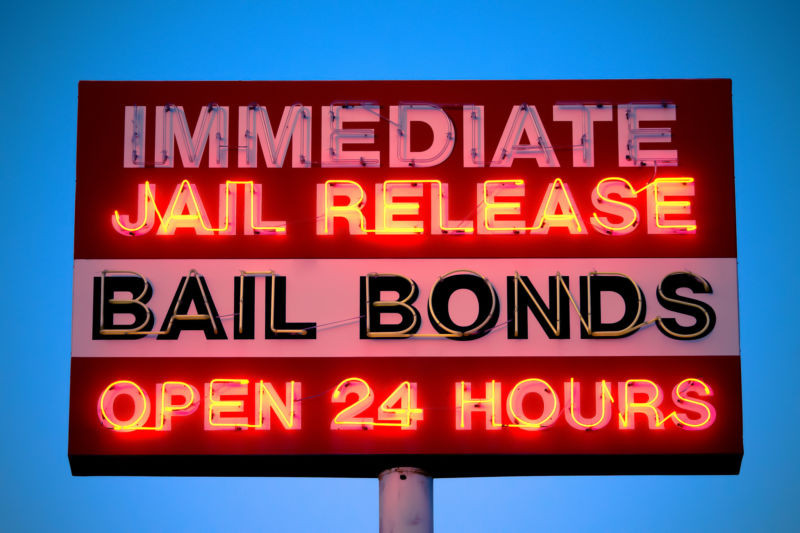 jail release bail bond