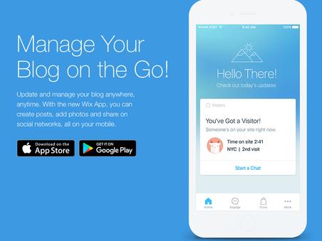Mobile Website Engagement App