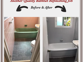 Refinish Your Bathtub Before Your Holiday Guest Arrive