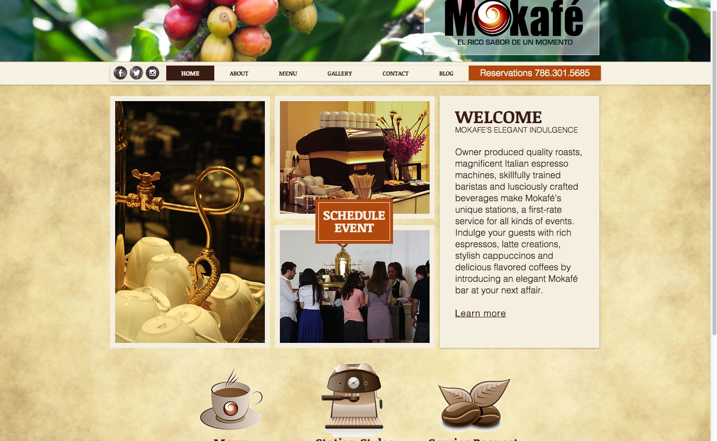 Mokafe Coffee Catering