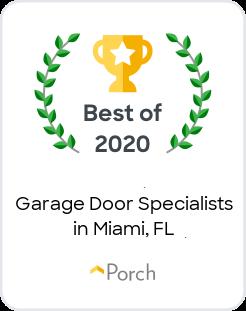 Voted Best Garage Door Specialist 2020