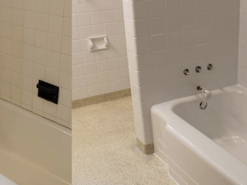 bathroom remodeling vs bathroom refinishing
