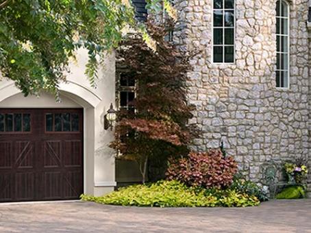 Woodgrain Finish Garage Doors