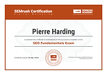 SEO Certification - SEMrush