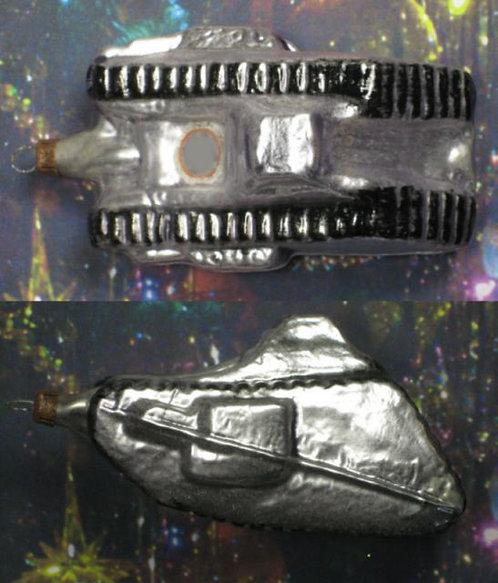 """#BG-W011 - """"War Era"""" Ornament - Tank"""