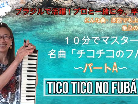 【Lesson1 Tico-Tico no Fubá】ブラジル実績プロが教える!鍵盤ハーモニカでブラジル音楽ショーロを弾こう!楽譜が読めなくても音楽が初めてでもOK!実質7分!これであなたも本場仕込み