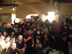WIth Fan at Praca 11 , Aoyama Japan