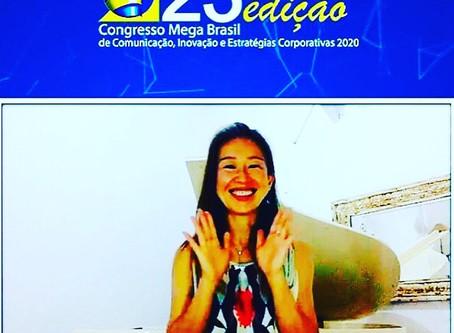 Mega Brasil radio interview