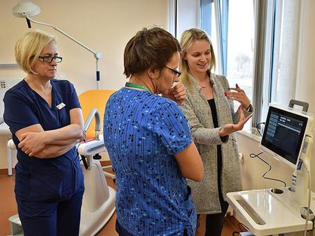 Slimnīcai piegādāta progresīva ultrasonogrāfijas iekārta