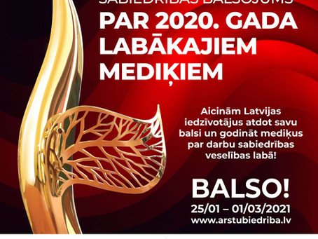 Aicina balsot par labākajiem mediķiem