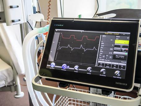 Slimnīcai jaunas plaušu mākslīgās ventilācijas iekārtas