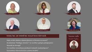 (12.05.) Tiešsaistes saruna: Veselība un drošība Kuldīgas novadā