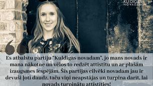 """Loreta Sokolovska: Kāpēc es atbalstu """"Kuldīgas novadam""""?"""