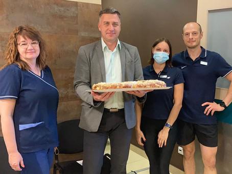 Kuldīgas slimnīca sveic Rehabilitācijas nodaļu Vispasaules Fizioterapijas dienā