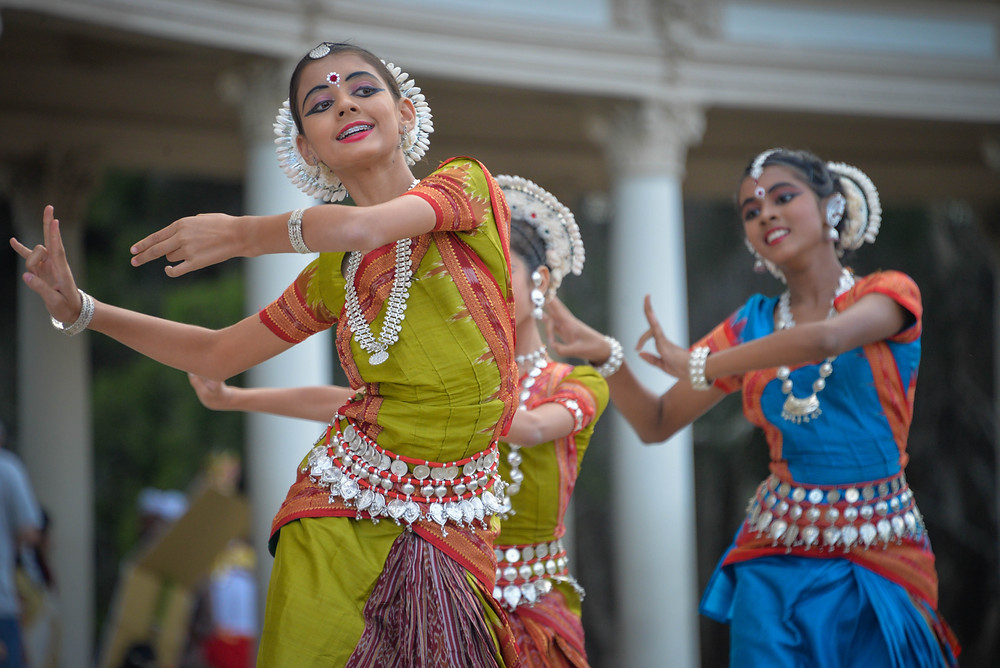 Bollywood dancing in India