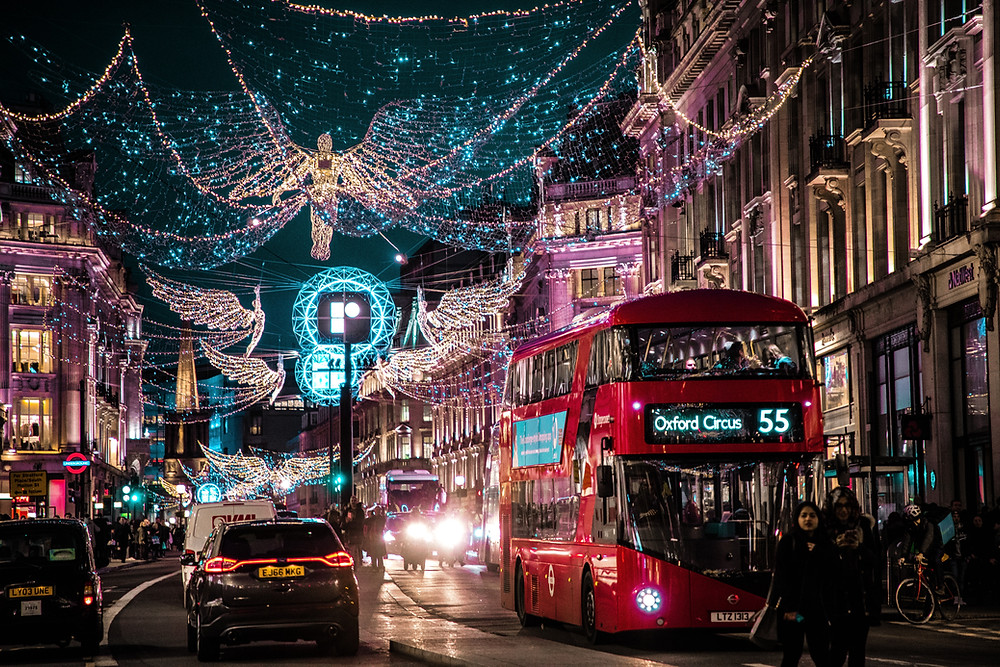 London at Christmas Time