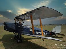 De-Havilland  DH-82A Tiger Moth